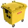Bild Mülltonne 1100 Liter - gelb